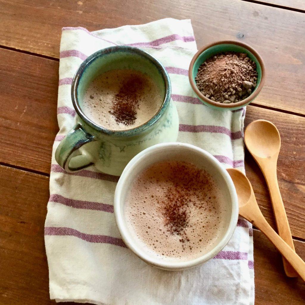 ダンデライオンチョコレート 使用ホットチョコレート