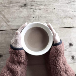 無農薬の茶葉で作るチャイ